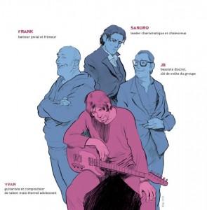 histoire d'hommes - personnages