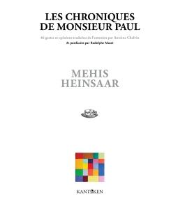 chorniques de monsieur paul